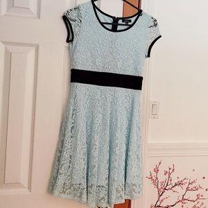 Nordstrom's Light blue laced dress